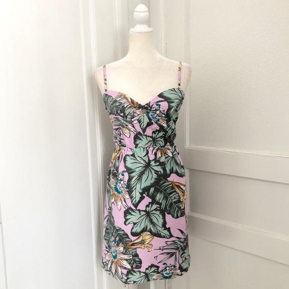 f17d2d99db3 J. Crew Dresses | J Crew Printed Poplin Cami Dress In Lilac Fern ...